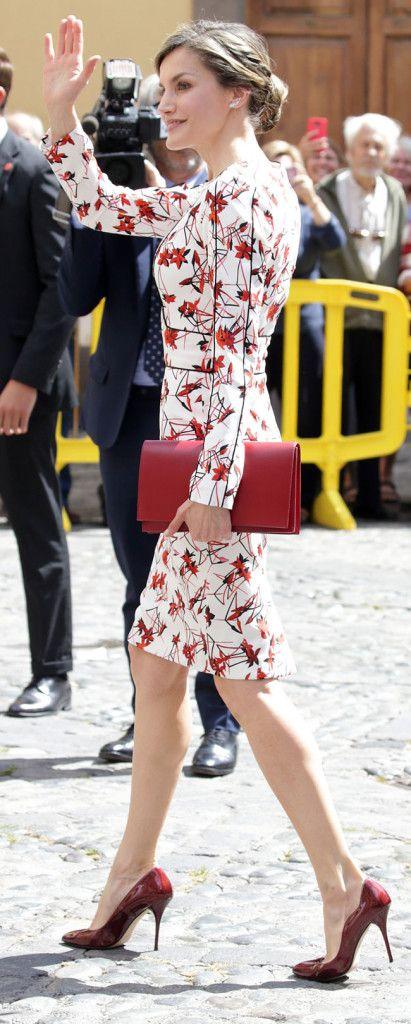 King Felipe and Queen Letizia Visit Gran Canaria April 25, 2017
