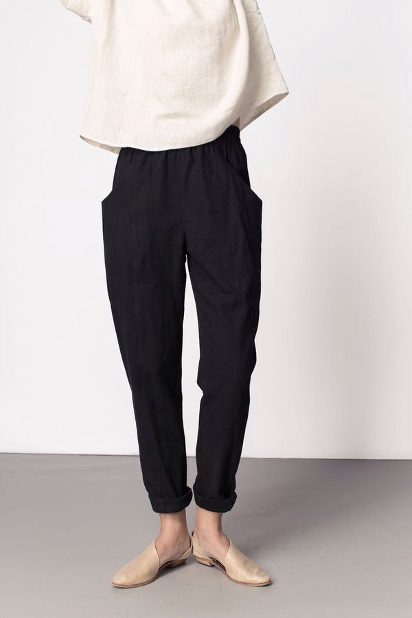 I really like the lines of these pants, with the t…