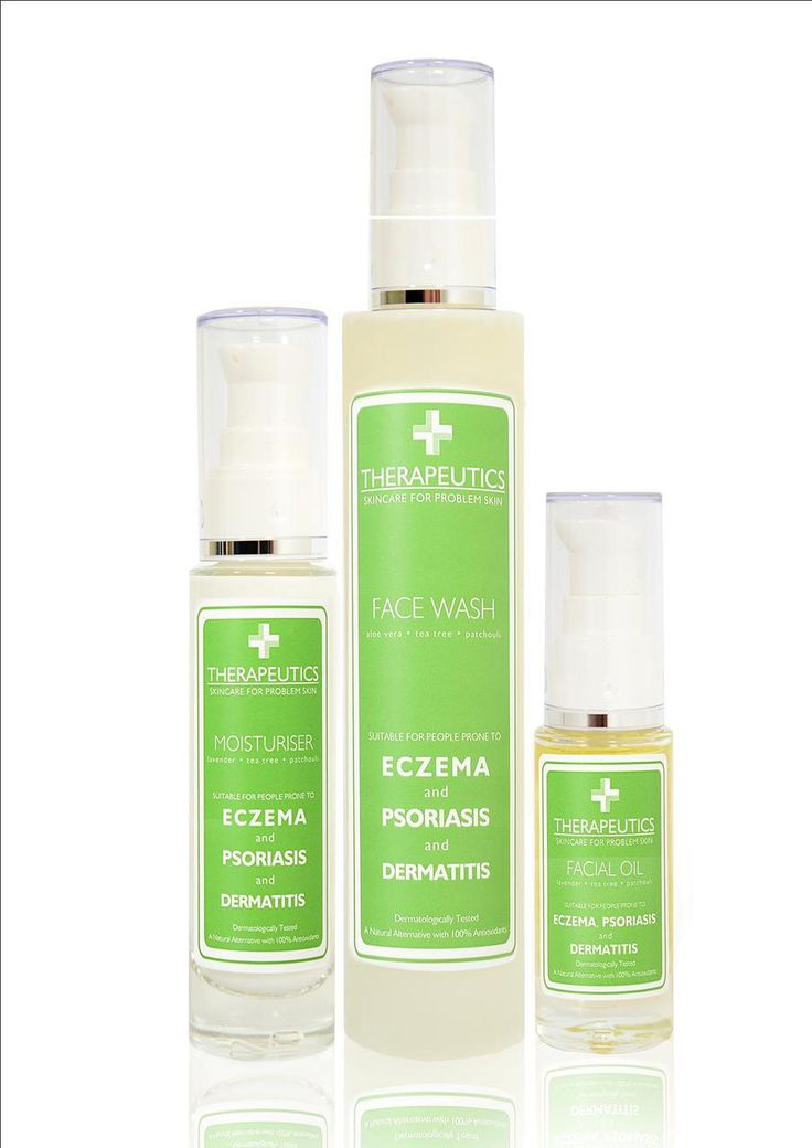 Natural Elements - *NEW* Facial Skincare Kit (for skin prone to Eczema, Psoriasis