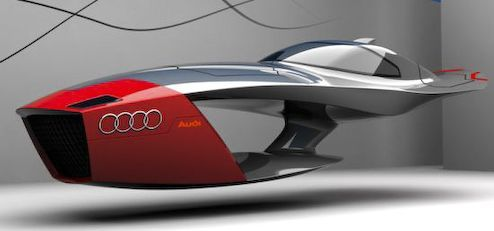 Audi Calamaro Flying Idea Automotive Takes Future Design Competitions To Greater Degree