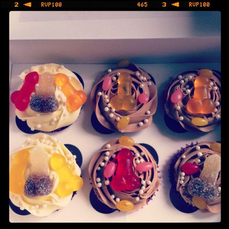Hen night cupcakes