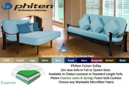 Zen Futon Frame | Latex Futon Sofa Bed Set Californian high quality futon set