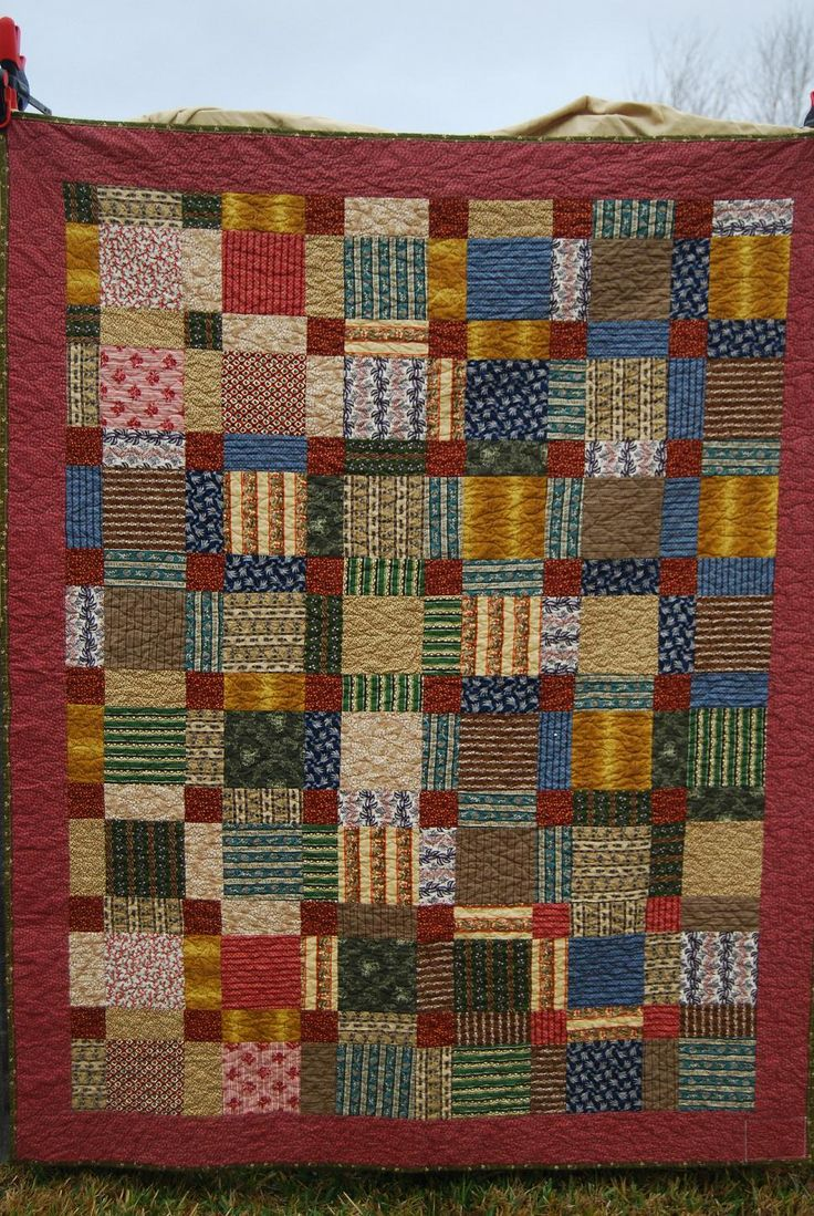 Pretty Dissapearing Nine Patch Quilting Pinterest