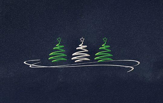 Weihnachtskarten Mit Gutem Zweck.Weihnachtskarte Bäume Mit Gutem Zweck Deutsche Kinderkrebsstiftung