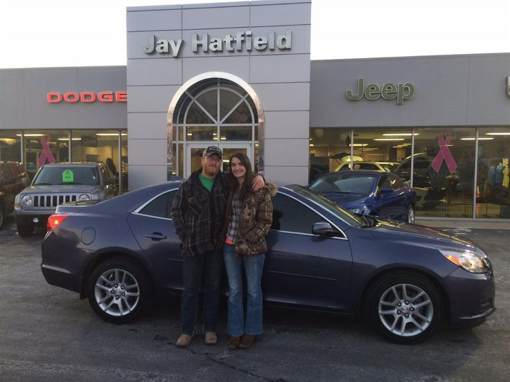 DENNIS AND BRANDI, we're so excited for all the places you'll go in your 2014 Chevrolet Malibu!  Safe travels and best wishes on behalf of Jay Hatfield CDJR and SHAWN STRANG.