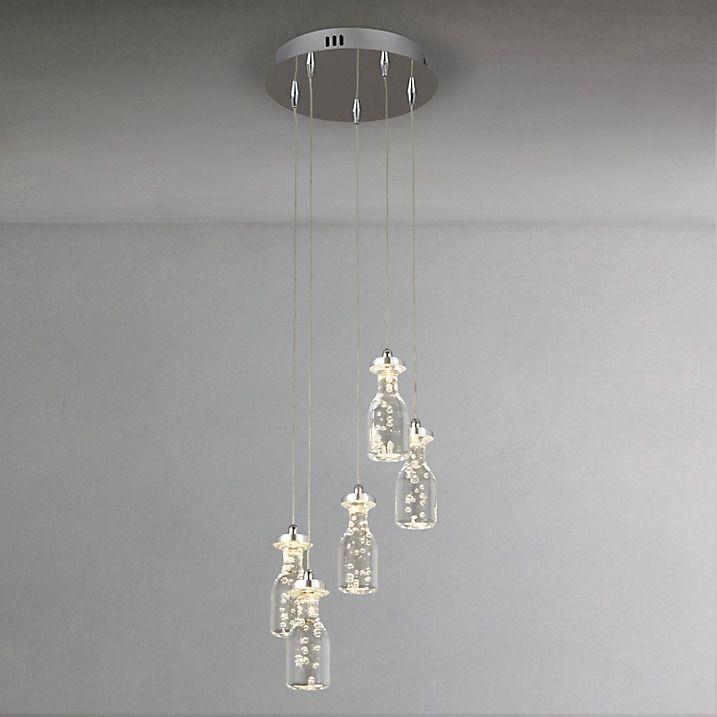 Buy John Lewis Giovanni Bubble 5 Cluster Ceiling Light Online at johnlewis.com