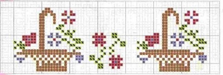 patrones cenefas toallas (5) | Aprender manualidades es facilisimo.
