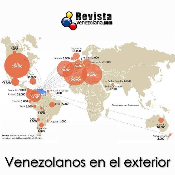 ubicaci n de otros venezolanos en el exterior incre ble