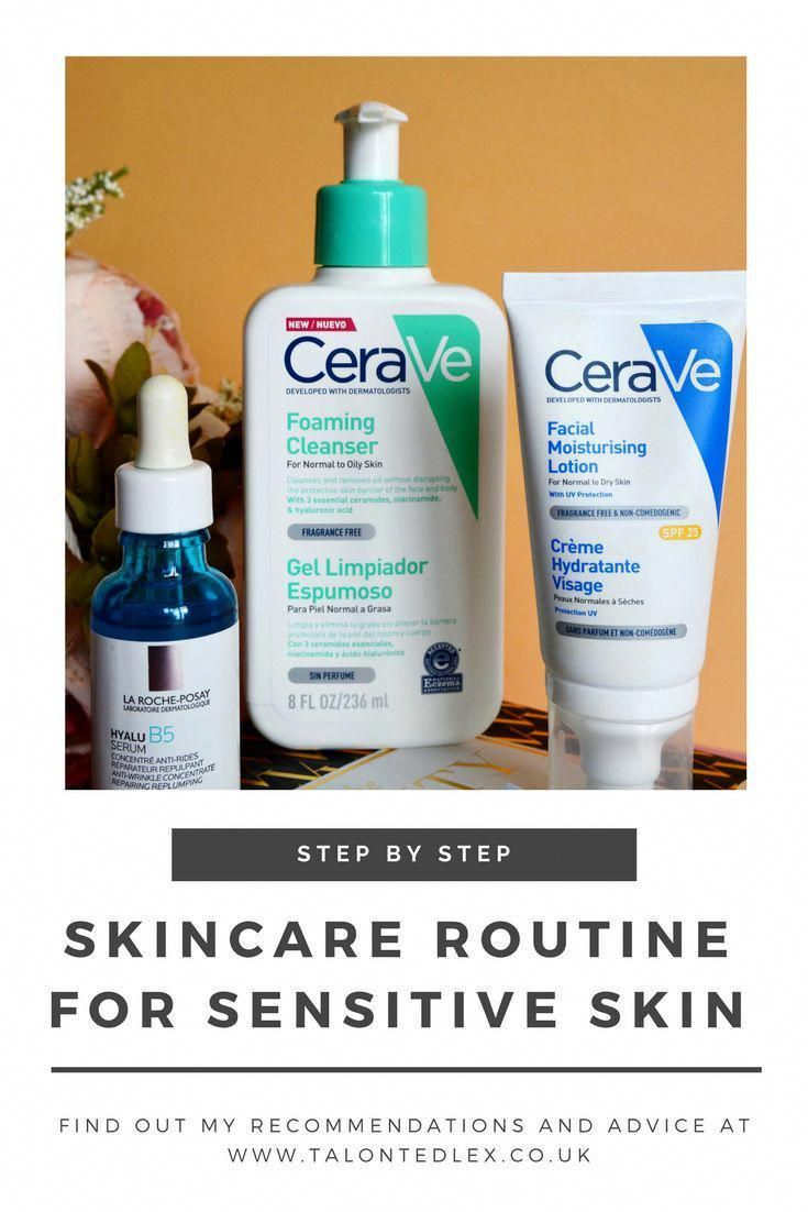 My Current Skincare Routine Products For Rosacea Sensitive Skin Rosacea Sensitive Skin Sensitiveski Sensitive Skin Care Sensitive Skin Skin Care Routine