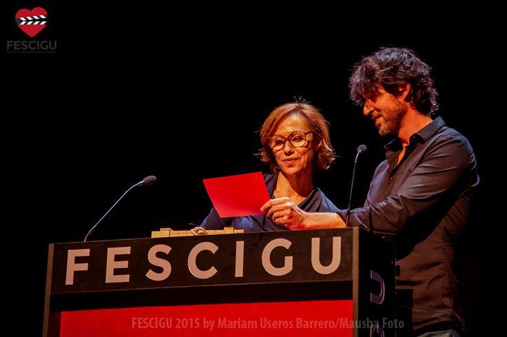 Ana Otero y Miguel Ángel Vivas. Gala de Clausura. Fecha: 03/10/2015. Foto: Mariam Useros Barrero/Mausba Foto.