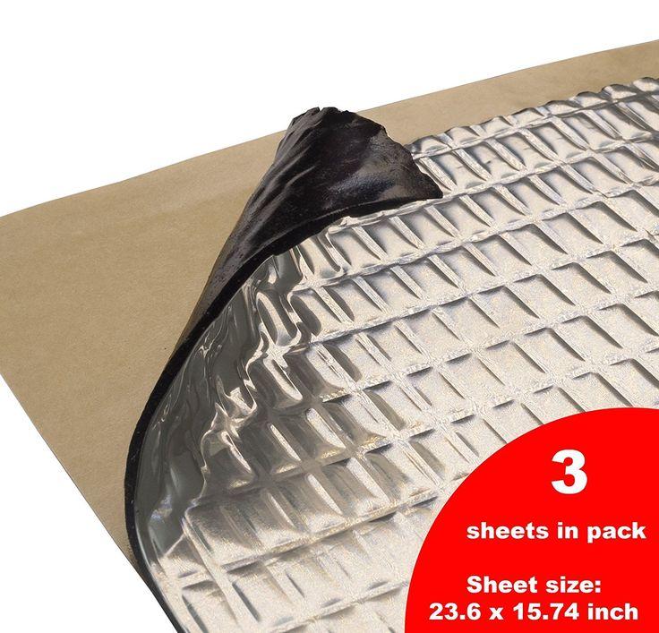 50 mil 10 sqft Sound Deadening mat Sound Deadener Mat Car