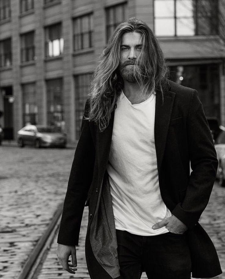 поисковую длинные волосы у мужчин фото владельца страницы
