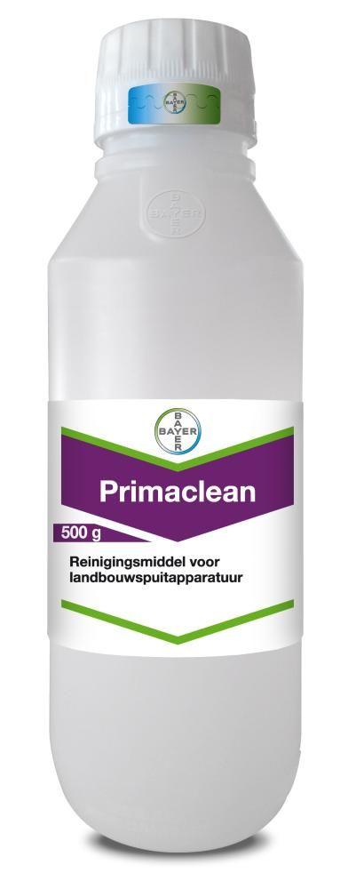 Primaclean. Reinigingsmiddel herbiciden voor spuitapparatuur