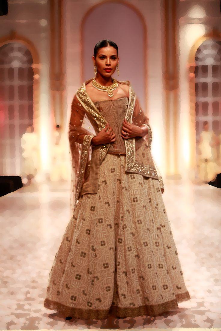 By: Meera muzzafar ali, #bridal wear collection at Amby valley. #Myfashioncart