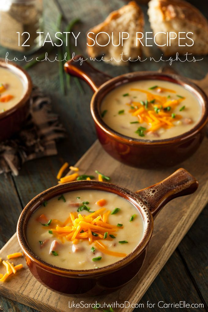 Winter is the time of cozy sweaters, sitting by the fire and snuggling with your loved ones. The chilly weather outside makes you want to nestle inside with some fuzzy socks, a sappy movie and a bowl of steamy soup! DARA'S DELICIOUS DOZEN: Tasty Soups for Chilly Winter Days Broccoli and Cheese Soup: This low-carb and gluten-free soup is not only tasty, it is super simple with only 5 ingredients to worry about! The best part? It is ready to eat in just 20 minutes. Oh, yeah. Slow-Cooker Loaded…
