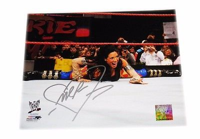 WWE MELINA PEREZ HAND SIGNED AUTOGRAPHED 8X10 PHOTO FILE PHOTO WITH COA