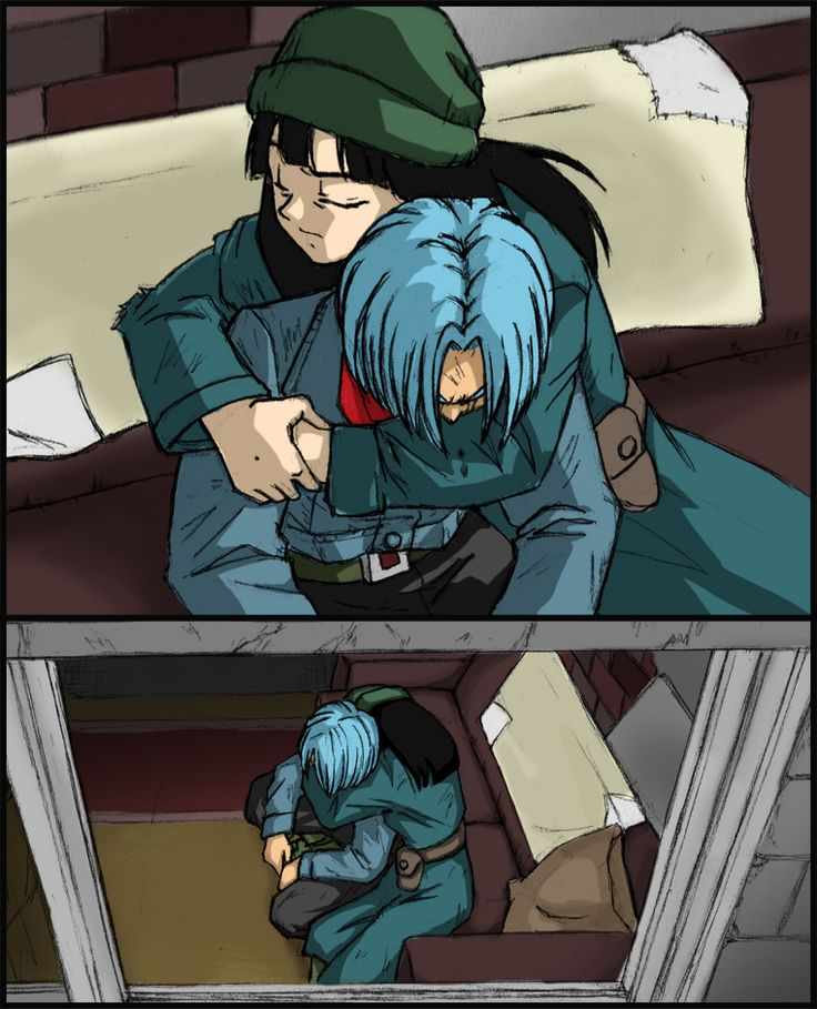 Dragonball Super - Trunks and Mai by Rider4Z on DeviantArt