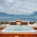 Jacuzzi Deck, Galapagos Sea Star Cruise - Ecuador