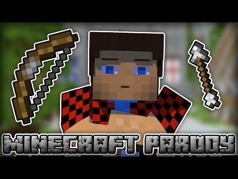 "♫ ""BOW"" - A Minecraft 1.9 Parody of Meghan Trainor's 'NO' ♫ | imagimango"