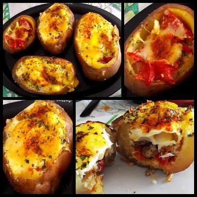 delicious stuffed potatoes