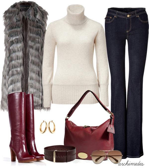... Jeans II on Pinterest  Gucci boots, Weekend fun and Fur vest outfits