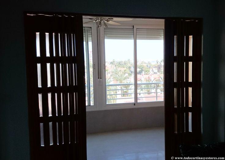 24 best puertas plegables de pvc images on pinterest - Puerta pvc plegable ...