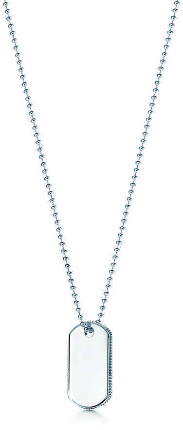 Coin Edge Tag Pendant by Tiffany & Co.
