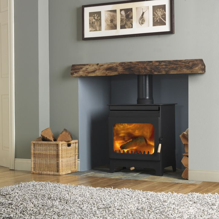 Brampton 9108 85.5% efficiency 8KW Black DEFRA approved Height - 680 mm Width - 595 mm Depth - 405 mm