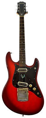 Vintage #epiphone et 270 70's cherry red #electric guitar kurt #cobain,  View more on the LINK: http://www.zeppy.io/product/gb/2/171841113528/
