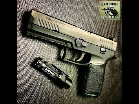 Sig P320 9mm Pistol Review - YouTube