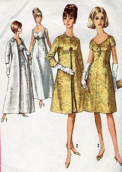 Vintage Wedding or Evening Dress