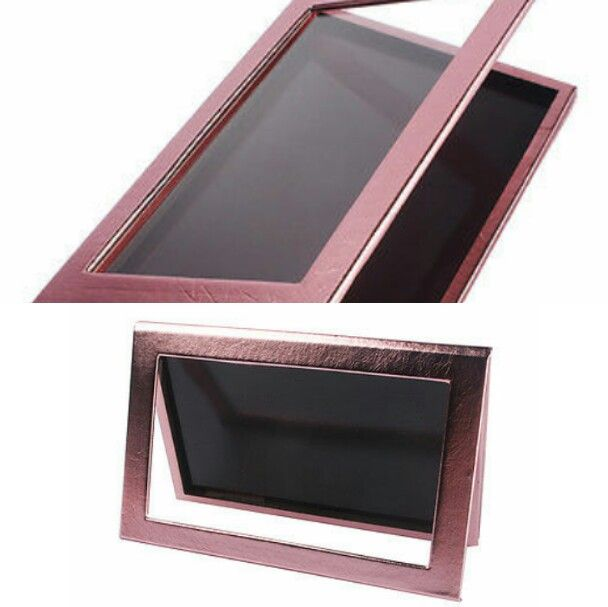 ♡Empty Rose Gold Magnetic Makeup Palette Large Freestyle Cosmetic Eyeshadow Palette.♡