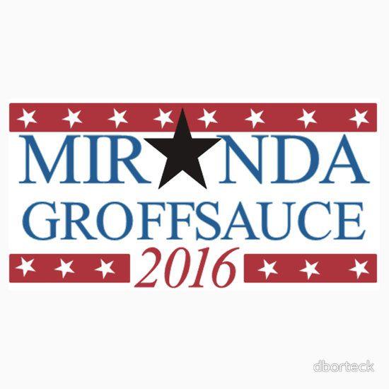 Miranda & Groffsauce for 2016