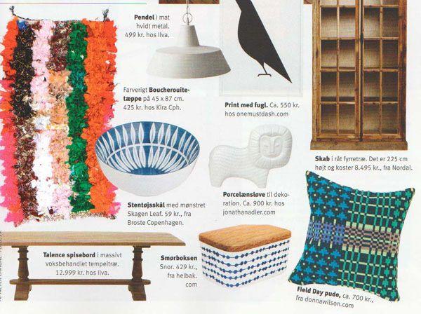 kira-chp.com Boucherouite rug in 'Boligmagasinet' 16