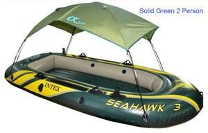 Intex Seahawk Inflatable Boat Tent Sun Shelter 2 3 4 Person PVC Rubber Intex Fishing Boat Tent Sun Canopy (No Boat)