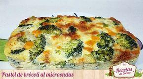 Pastel de brócoli al microondas - Lo bueno de descubrir recetas nuevas, ligeras para el estómago y rápidas y sencillas de hacer es que enseguida las ponemos en práctica para traéroslas aquí. Este tipo de recetas tienen muy buena acogida entre vosotros, y es que ahora, en verano (al menos aquí en España lo es y hace un calor... - https://www.lasrecetascocina.com/pastel-brocoli-al-microondas/