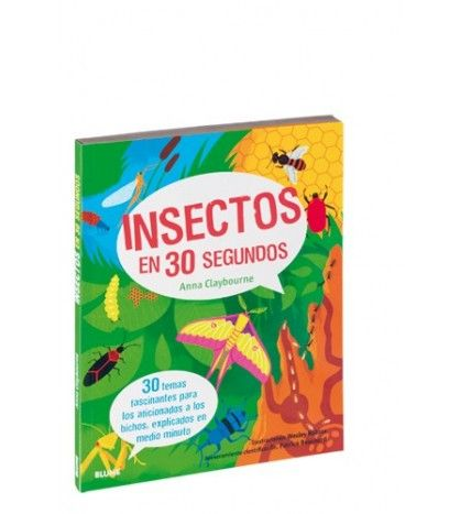 Lee 30 temas rápidos y fascinantes sobre los insectos, entiende por qué el esqueleto de un insecto se encuentra en el exterior de su cuerpo, explora cómo es la vida en las colonias de hormigas, de abejas melíferas y de termitas, aprende lo que comen los insectos, cómo cazan y se protegen, y descubre cómo los insectos son importantes para la supervivencia humana. Con hechos sorprendentes, resúmenes de 3 segundos y misiones de 3 minutos ¡en todo el libro! Lleno de diversión e ilustraciones…