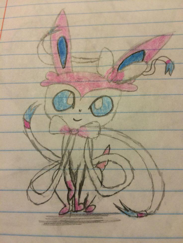 Silvion the Pokemon (fairy type evee avolvshion)