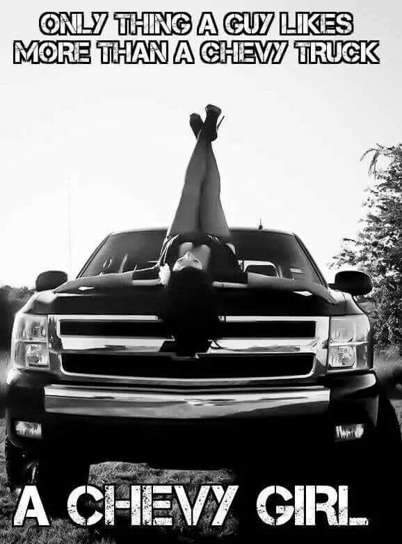 Always a chevy girl