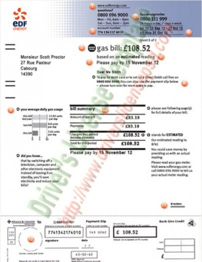 Drivers License - Fake Drivers License - Drivers License PSD | Utility Bills