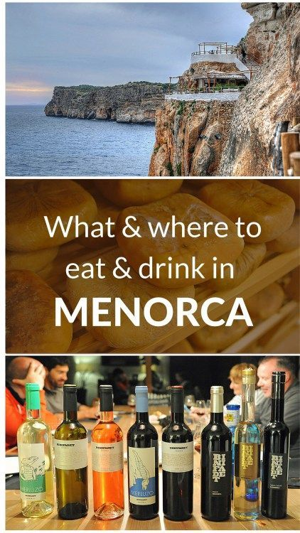 Guide to the best food and drink in Menorca, Spain                                                                                                                                                                                 More