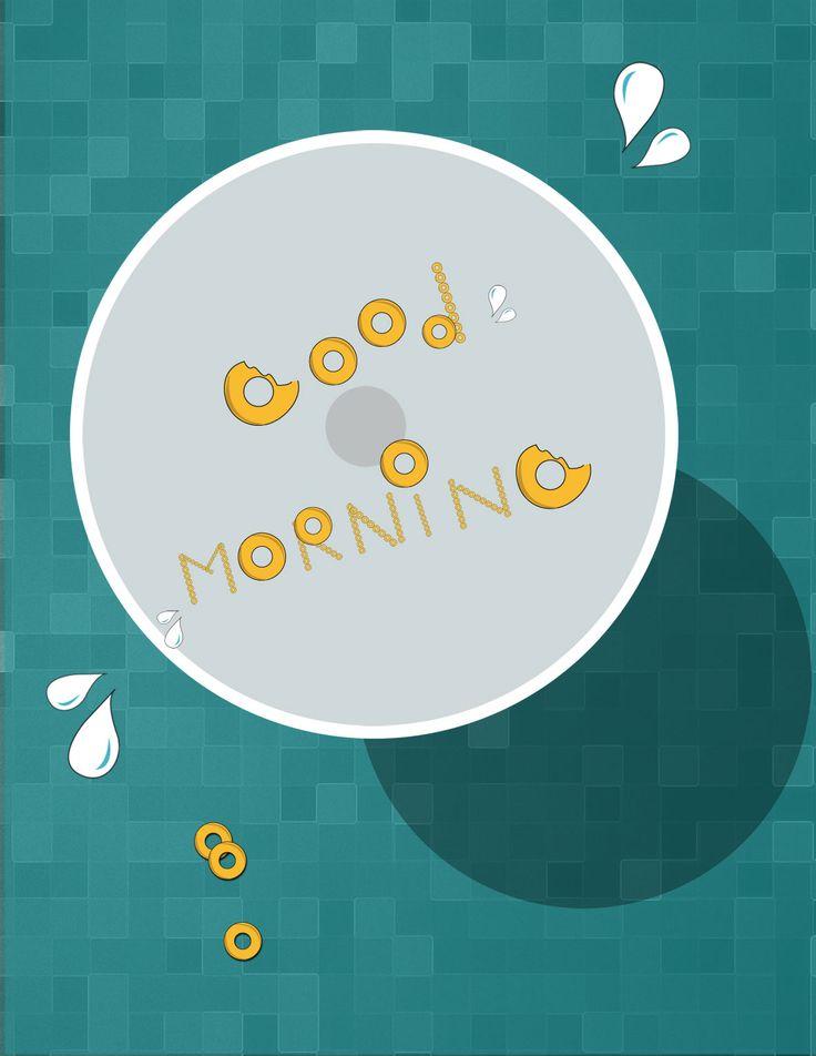 Buenos días por la mañana con cereal... :P