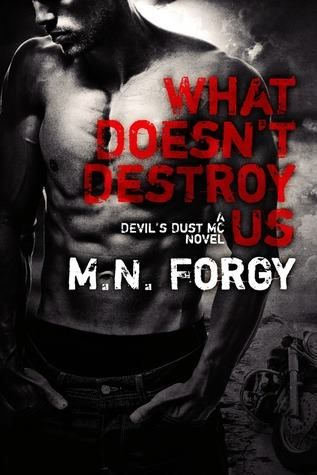 What Doesn't Destroy Us by M.N. Forgy http://www.mythicalbooks.blogspot.ro/2014/10/the-scars-that-define-us-devils-dust-2.html