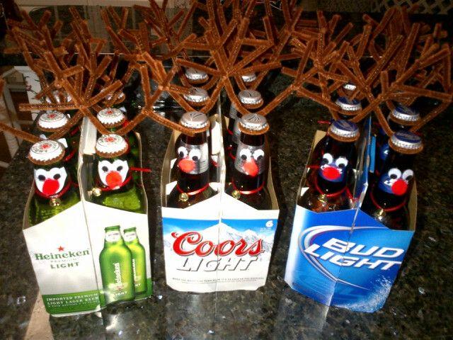 Diy rainbeer make a fun christmas gift beautiful holly for Fun secret santa gifts