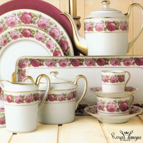 Porcelana Limoges,um luxo!