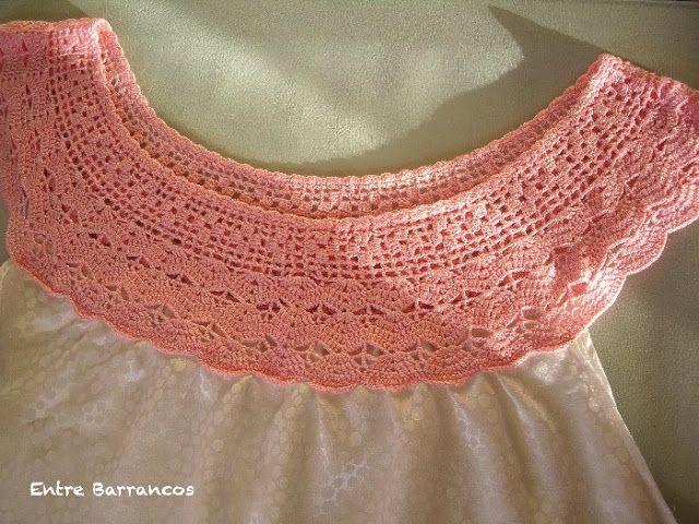 Entre Barrancos (MANUALIDADES): Camisón de ganchillo (crochet)