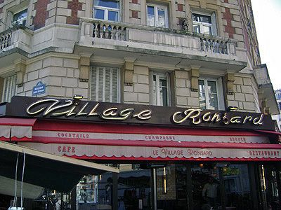 Image result for le village ronsard paris