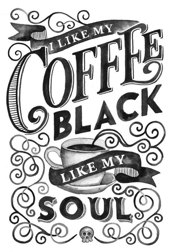 I Like My Coffee Art Print   Fercute   Society6