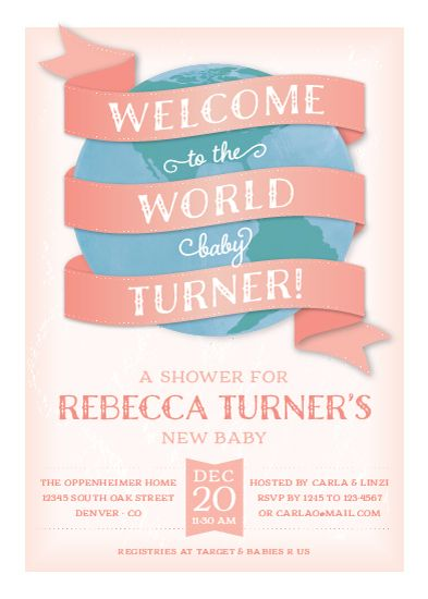 Minted Baby Shower Invitations as luxury invitations template