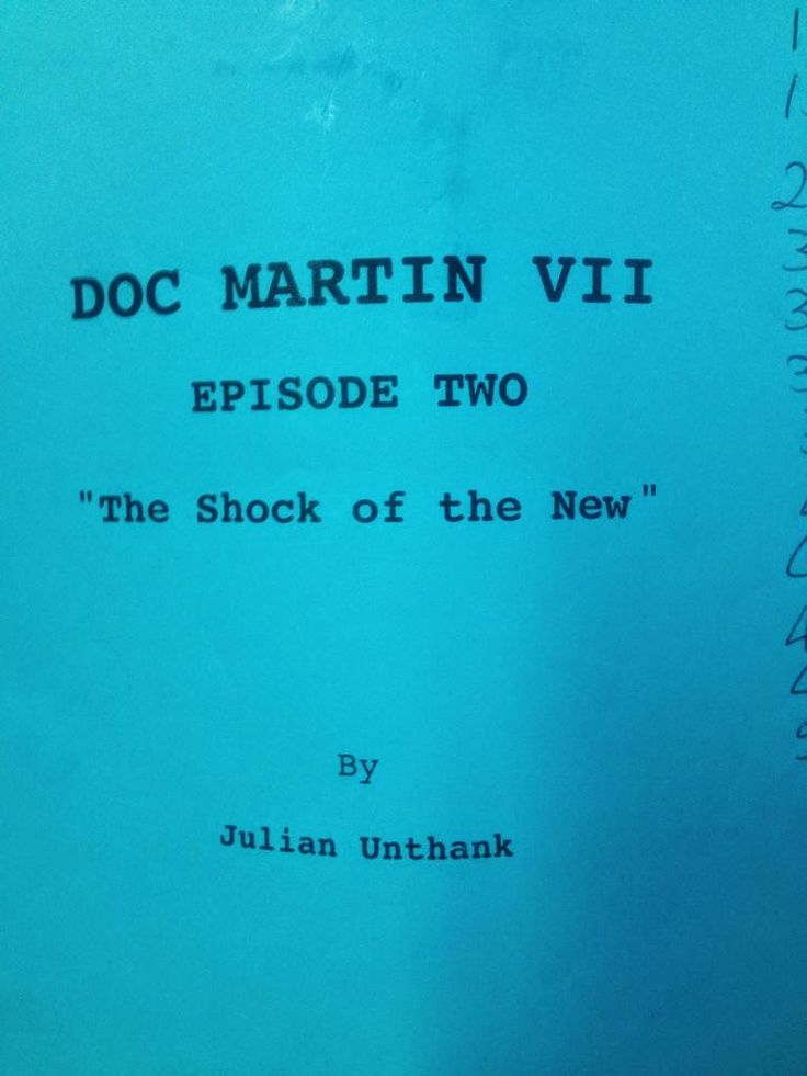 Doc Martin Series 7: The Shock of the New